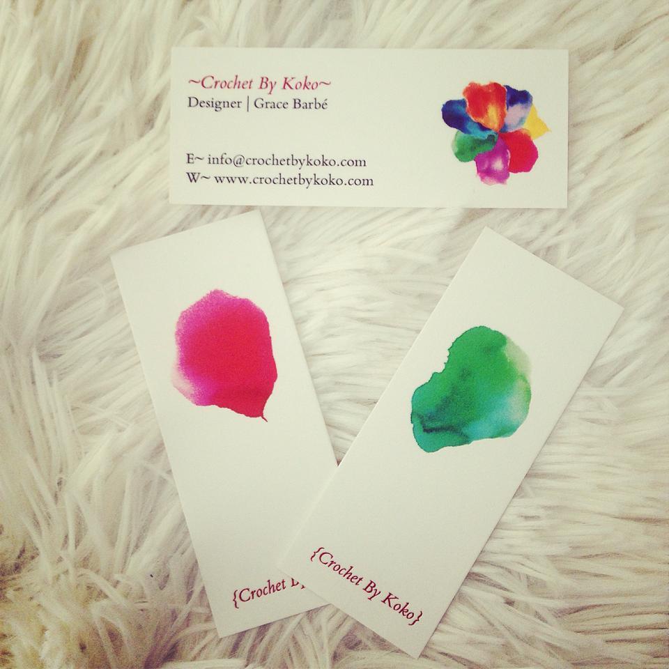 Crochet By Koko Business Cards! | Crochet By Koko